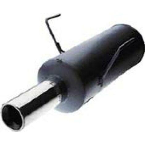Pot Echappement compatible avec Megane 1 Coupe 1.6l 16V 2.0l 16V - Sortie 1x76mm