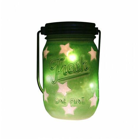 Pot lumineux - Vert - Décoration lumineuse - Livraison gratuite