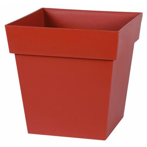 Pot plastique carré toscane 22 32 x 32 x 32