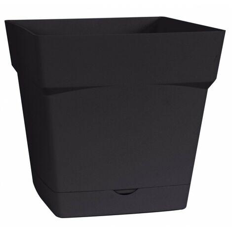 Pot plastique carré Toscane Eda