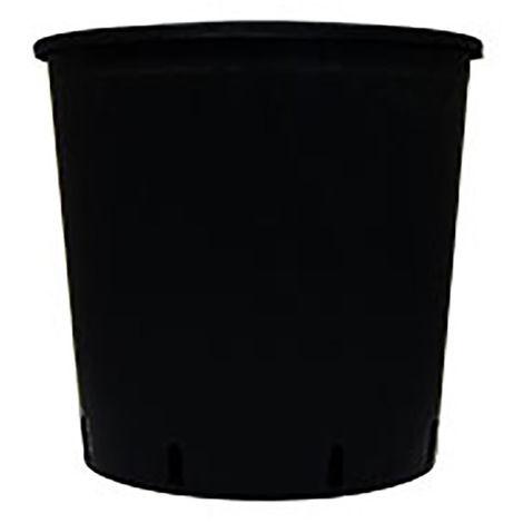 Pot rond noir - 18.5l - 30x30