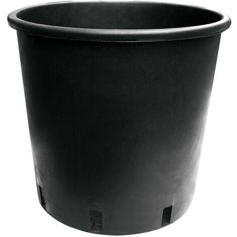 Pot rond noir rond 25L 28x24x27 cm