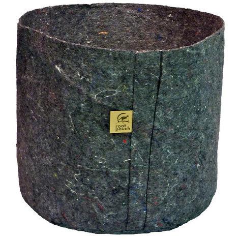 POT textile 8 L GREY 21W X 21H - ROOT POUCH