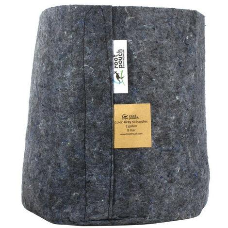 pot textile Root Pouch Grey 8L 21x21cm - Gris