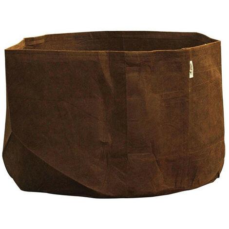 pot textile tissu Root Pouch 246L 81x45.5cm - Marron