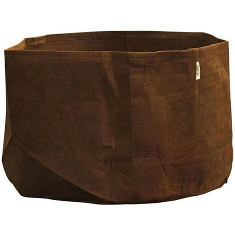 pot textile tissu Root Pouch 567L 114x56cm - Marron