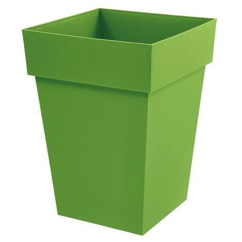 Pot toscane carre 51l vert matcha ref.13628 v.mc