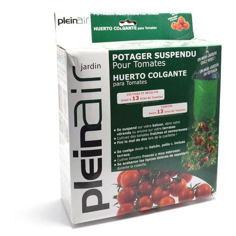 Potager suspendu pour tomates