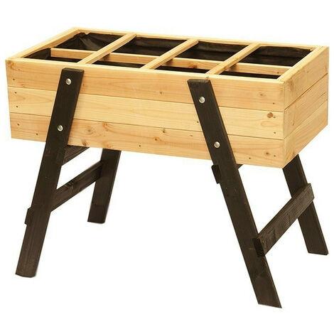 Potager Ventoux en bois de Mélèze - 100 x 55 x 78 cm