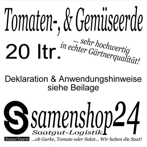 PotatoPot Kartoffel-Pflanztopf Anzuchtset + Tomaten- und Gemüseerde 20ltr