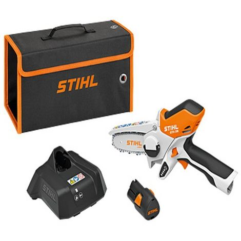 Potatore GTA 26 SET con Batteria AS 2 e Caricatore AL1 Lama da 10 cm con Borsa - STIHL - GA010116910