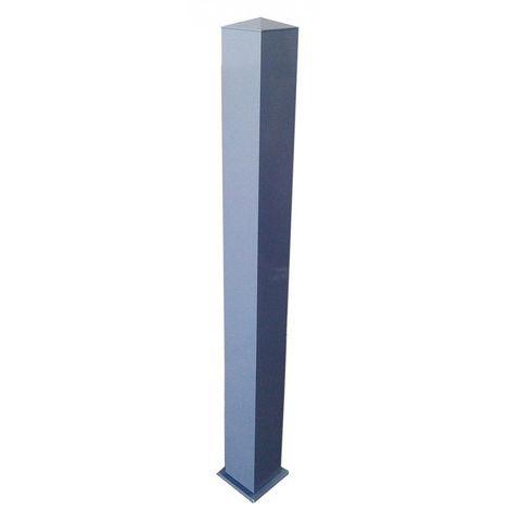 Poteau Aluminium section 150 x 150 x 2100 mm - Plusieurs couleurs disponibles