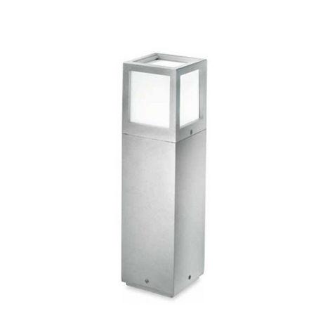 Poteau en aluminium gea led ges332 led ip54 lampadaire extérieur moderne e27 40cm