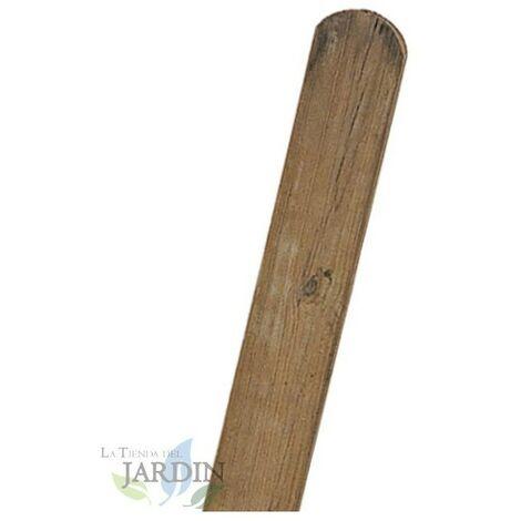Poteau en bois avec arceau 7 x 7 cm, hauteur 100 cm