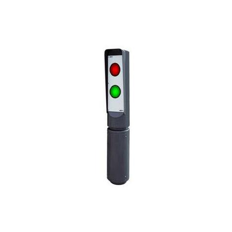 POTEAU VISUAL 1350 - FEUX R/V LEDS 230 V - 1 FACE FADINI