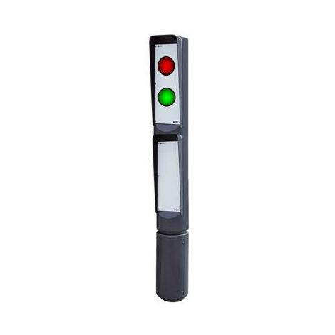 POTEAU VISUAL 2155 - FEUX R/V LEDS 24 V - 1 FACE FADINI
