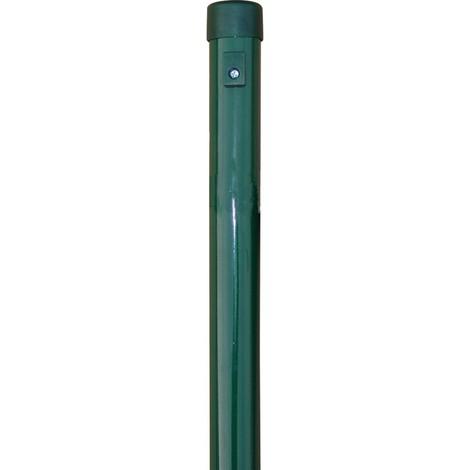 Poteaux de cloture vert 34x2000 mm (Par 6)
