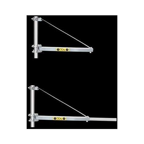 Potence bras telescopique pour palan electrique max 600 kilos de charge