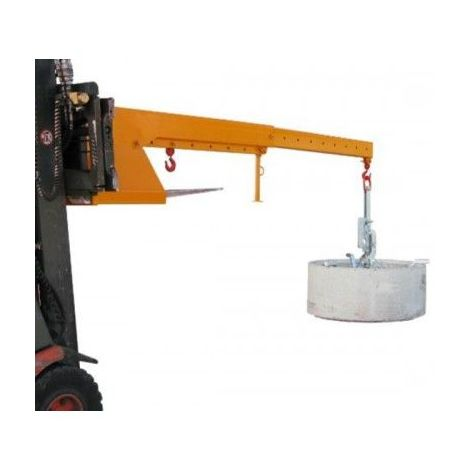 Potence de levage téléscopique et articulée - Capacité : 2.5 tonnes