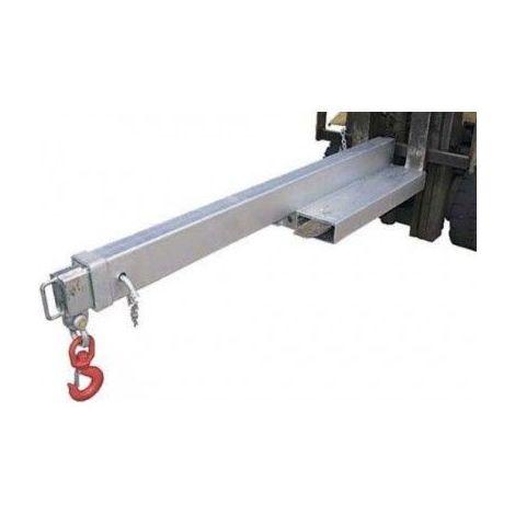 Potence extensible galvanisée - Capacité : 4.5 tonnes