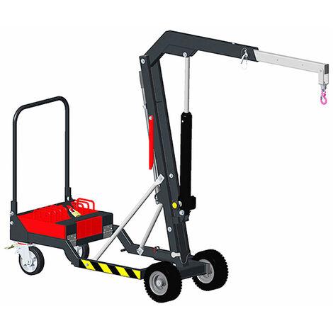 Potence mobile cap. 200kg - Hauteur max 2380mm / portée 1000mm