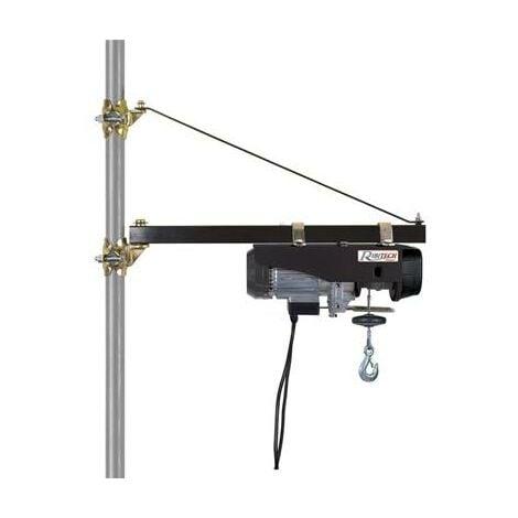 Potence pivotante pour palan réglable de 75 à 110 cm - charge max 600 kilos
