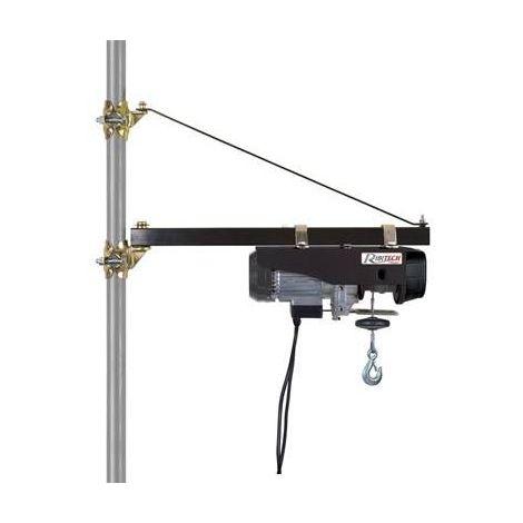 Potence pivotante pour palan reglable de 80 à 120 cm