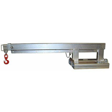 Potence télescopique en acier galvanisé pour chariot élévateur (plusieurs tailles disponibles)