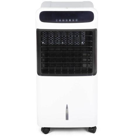 Potente Acondicionador de Aire Frío-Calor Portátil 4 en 1. Refrigerador, Calefactor, Humidificador y Purificador - Esterilizador