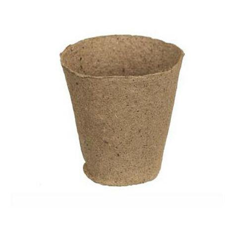 Pots ronds en tourbe pour semis