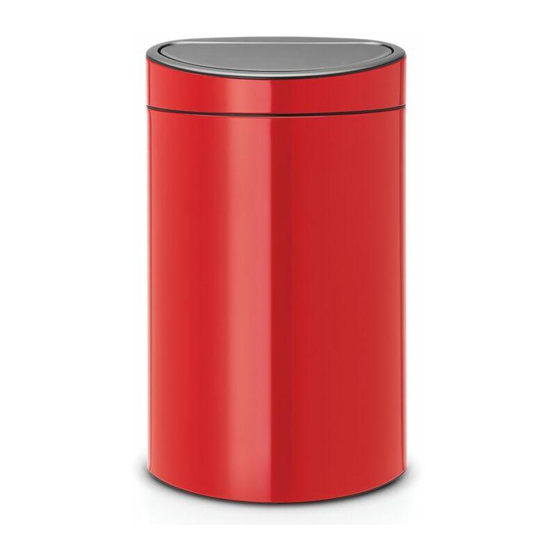 poubelle 40l rouge - 114960 - Brabantia