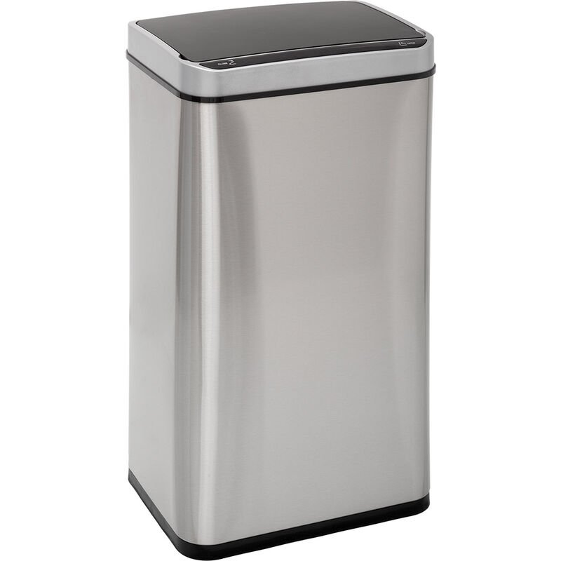 Five Simply Smart - Poubelle 40L Sensor inox - Gris