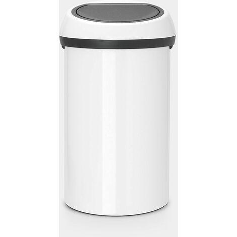 poubelle 60l blanc - 108686 - brabantia