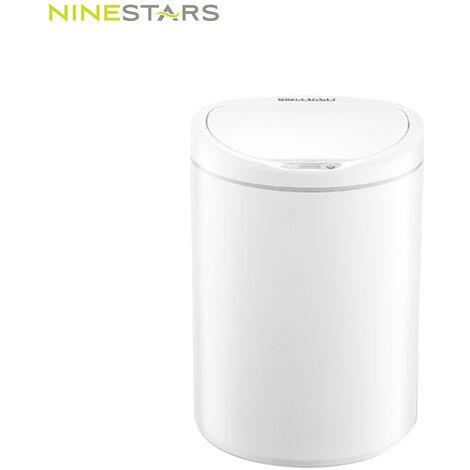 Poubelle a capteur intelligent Xiaomi NINESTARS DZT-10-29S blanc polaire 10 litres 1 set / boite