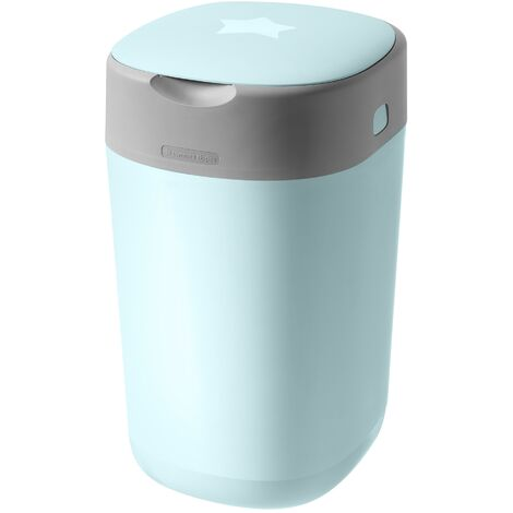 Poubelle A Couches Twist & Click Bleue Tommee Tippee