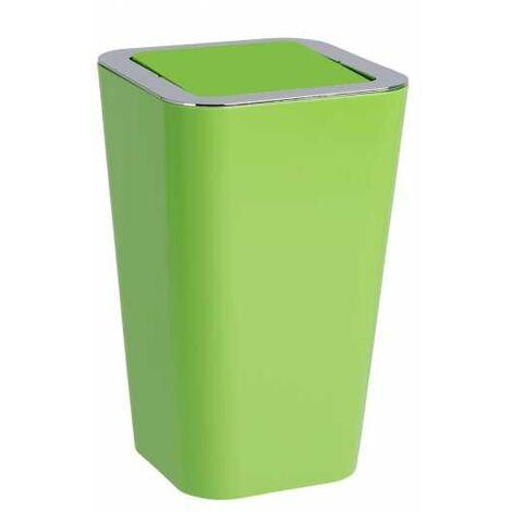 Poubelle à couvercle oscillant Candy vert WENKO