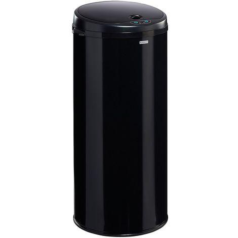 Poubelle à ouverture automatique - 45 l - Noir graphite - SENSITIVE | Rossignol - Noir