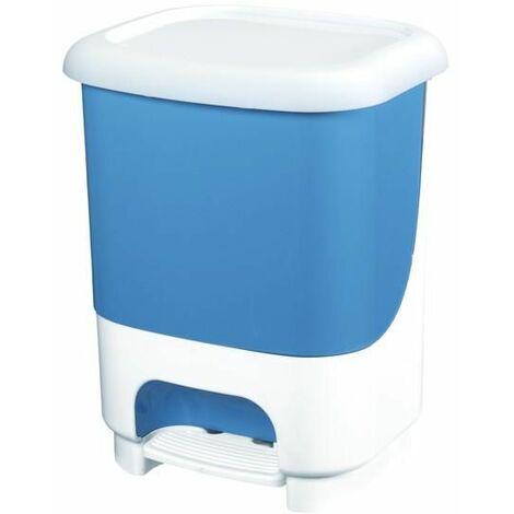Poubelle à pédale Class 10 litres en bleu