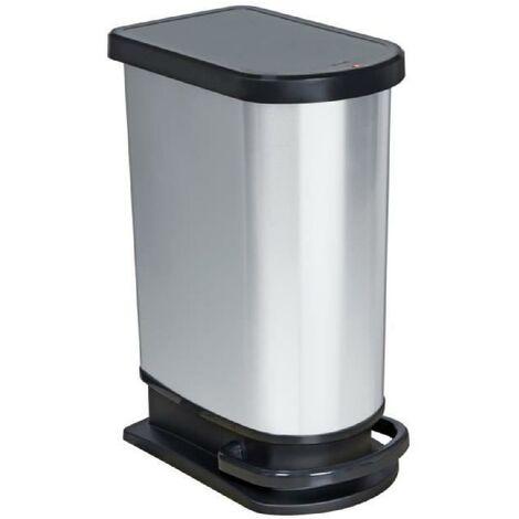 Poubelle a pédale PASO 50L Mono métal