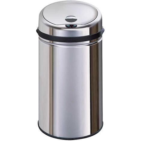"""main image of """"poubelle automatique 30l inox - bat-30lb - kitchen move"""""""