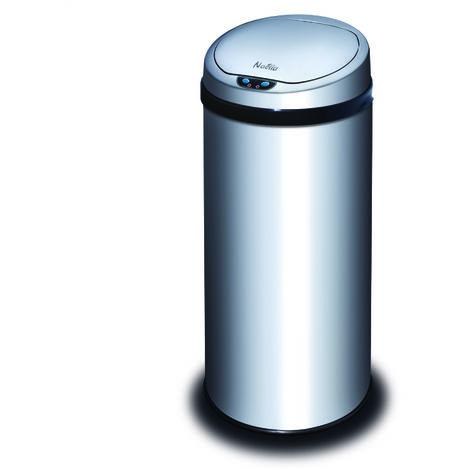 poubelle automatique 42l inox - hsd-zr403-nae - naelia