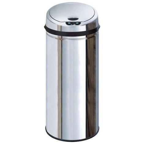 poubelle automatique 50l inox - bat-50lb - kitchen move