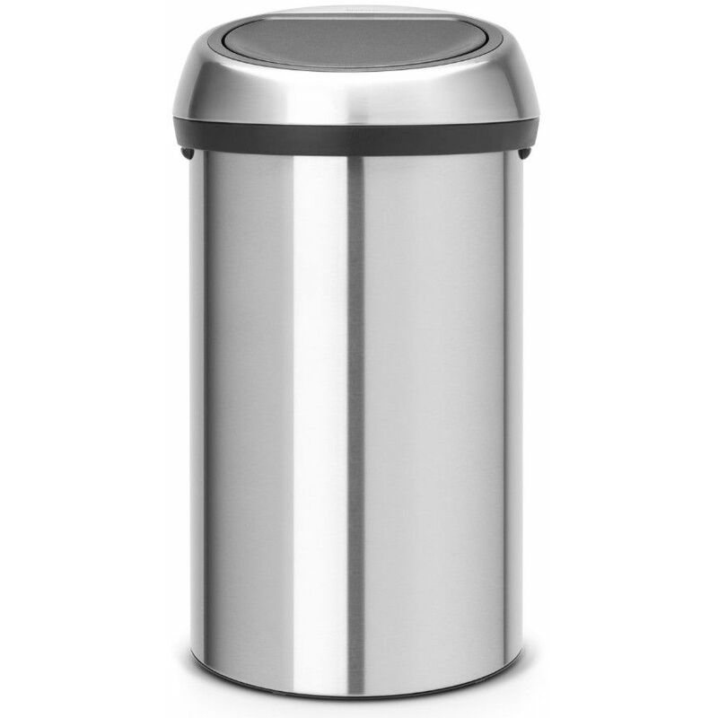poubelle de cuisine 60l matt steel - 107962 - Brabantia