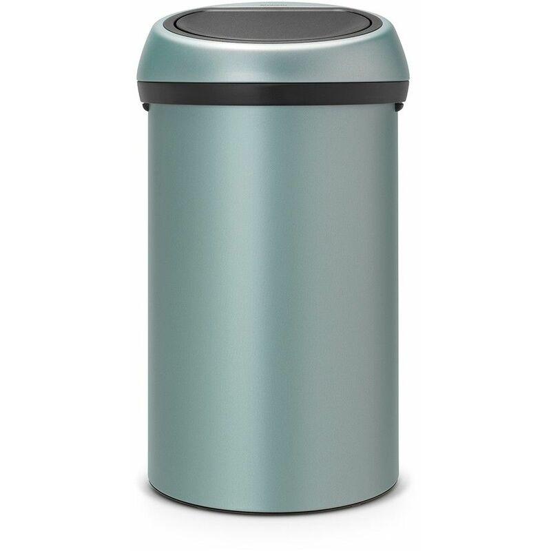 poubelle 60l metallic mint - 402449 - Brabantia