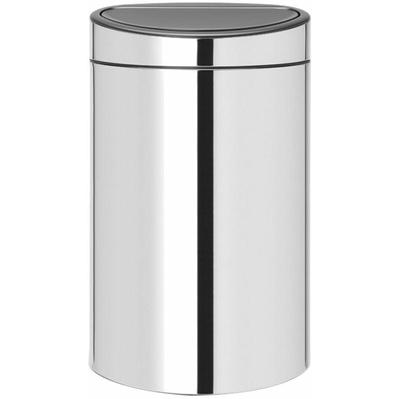poubelle 10+23l brillant steel - 115004 - Brabantia