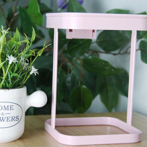 Poubelle de bureau de style japonais, petite mini cuisine cr¨¦ative et fra?che, salon, poubelle ¨¤ rabat de table