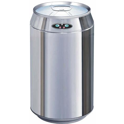 Poubelle de cuisine automatique CAN inox 30L