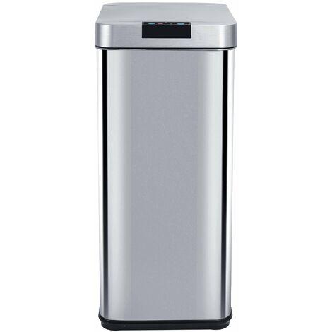 Poubelle de cuisine automatique PARKSIDE inox 50L