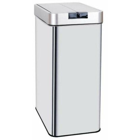Poubelle de cuisine automatique UPPER en inox 60L