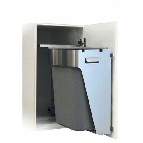 Poubelle de cuisine encastrable CACTUS - 40 litres